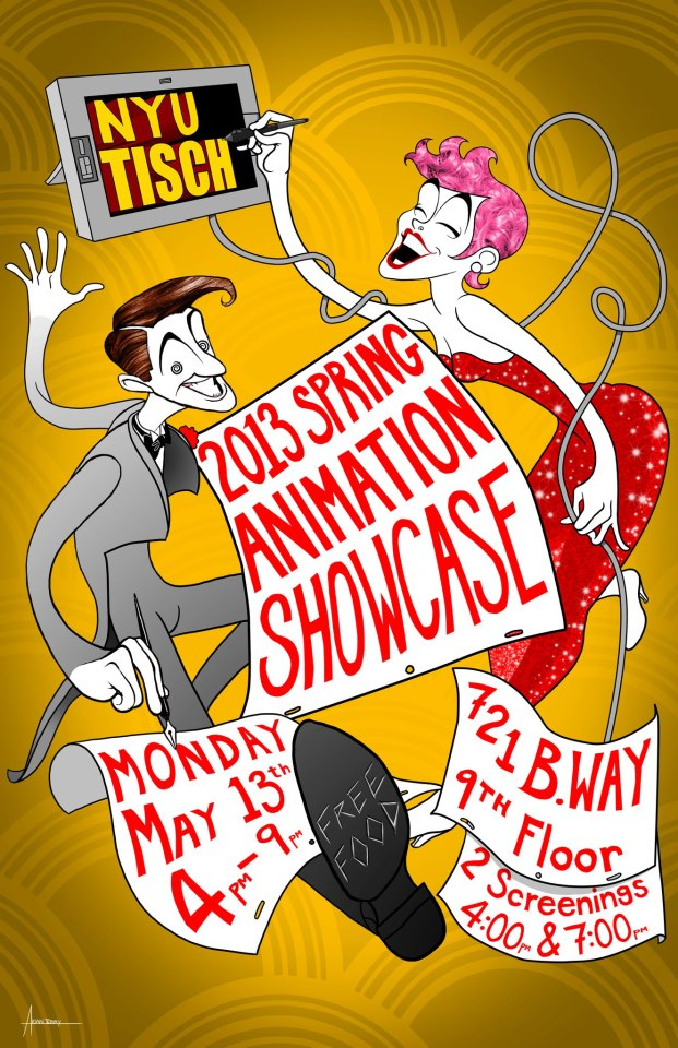 NYU/Tisch Presents Spring Animation Showcase @ NYU- Tisch, 9th Floor | New York | New York | United States