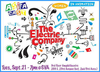ASIFA-East presents – An Evening with The Electric Company