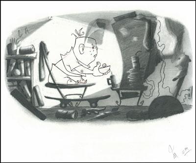 ASIFA-East  presents an evening with former Disney animator Mario Menjivar!