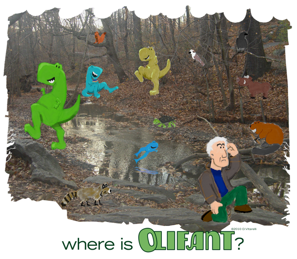 Where is Olifant?
