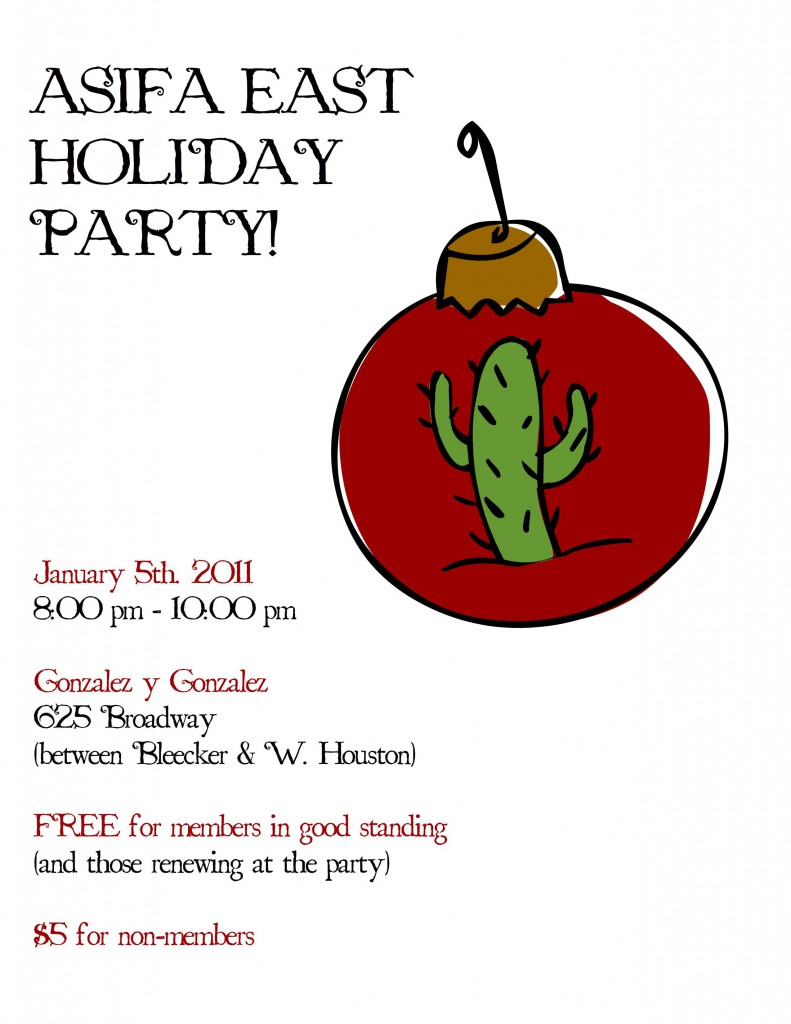 Come party with us at our Post-Holiday Party!!  Woot!  Woot!
