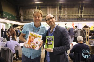 Interview with Bill Plympton and David B Levy and MoCCA!