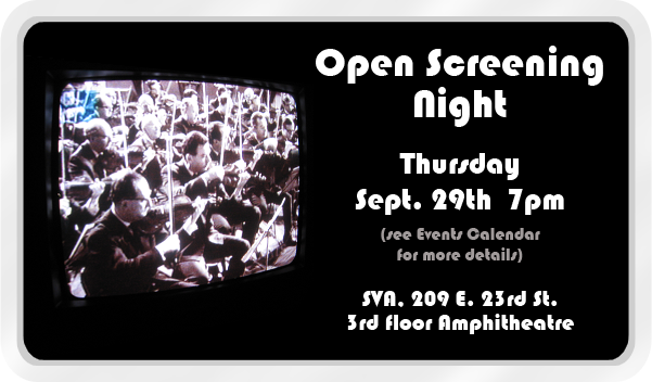 Join ASIFA-East for our Annual Open Screening Night!