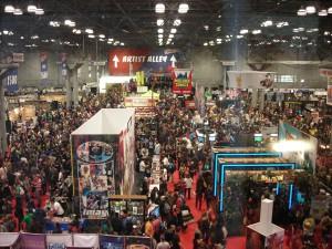 NY Comic-Con Main Floor