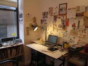 Julia's desk