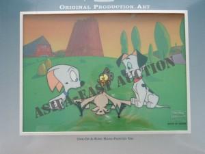 ASIFA-East Animation Art Auction Teaser! 101 Dalmations TV Show Cel!