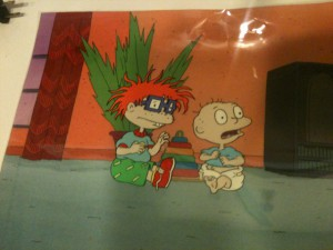 ASIFA-East Animation Art Auction Teaser!  Rugrats Cel!