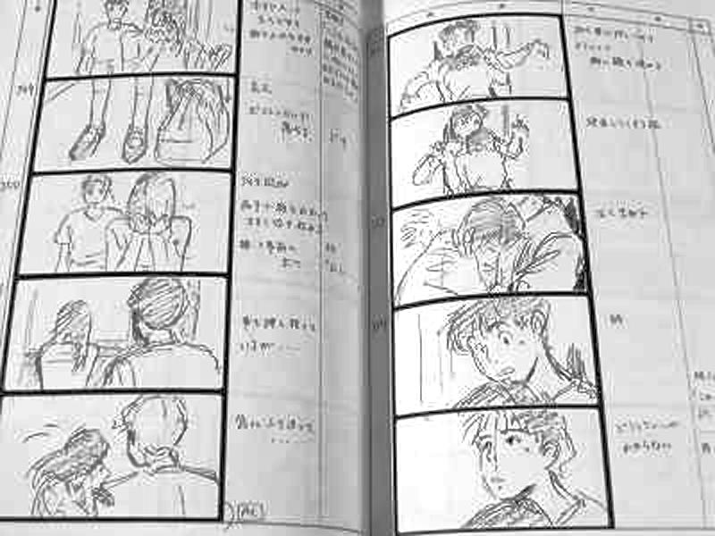 Ocean Waves Studio Ghibli Storyboard Tomomi Mochizuki