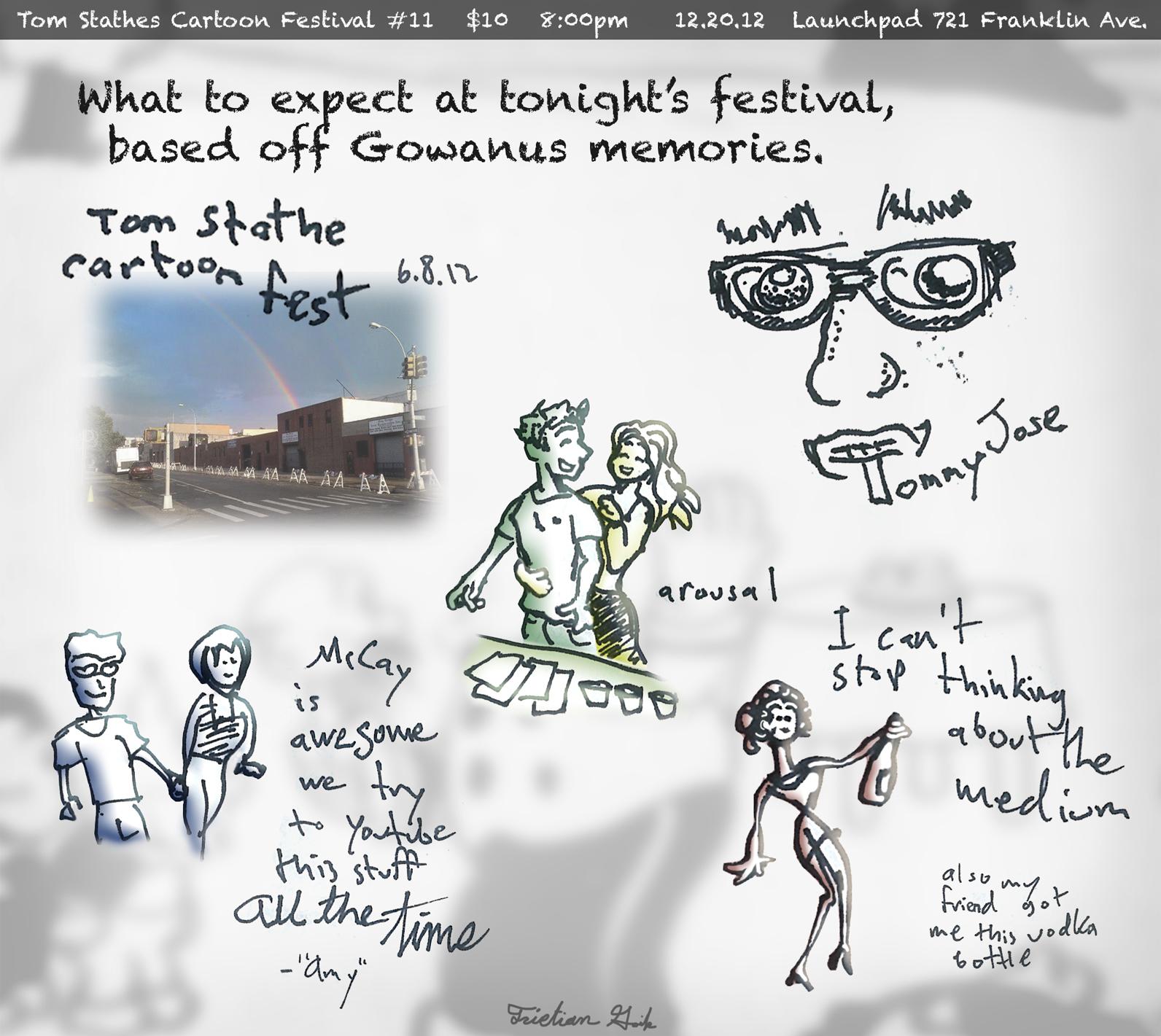 Tommy's Xmas Cartoon Festival!