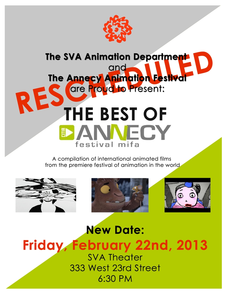 The Best of Annecy – RESCHEDULED – February 22