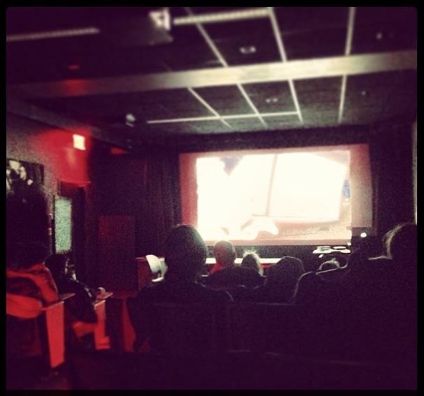 The new SVA screening room, ASIFA-East Experimental/Commisioned Jury night