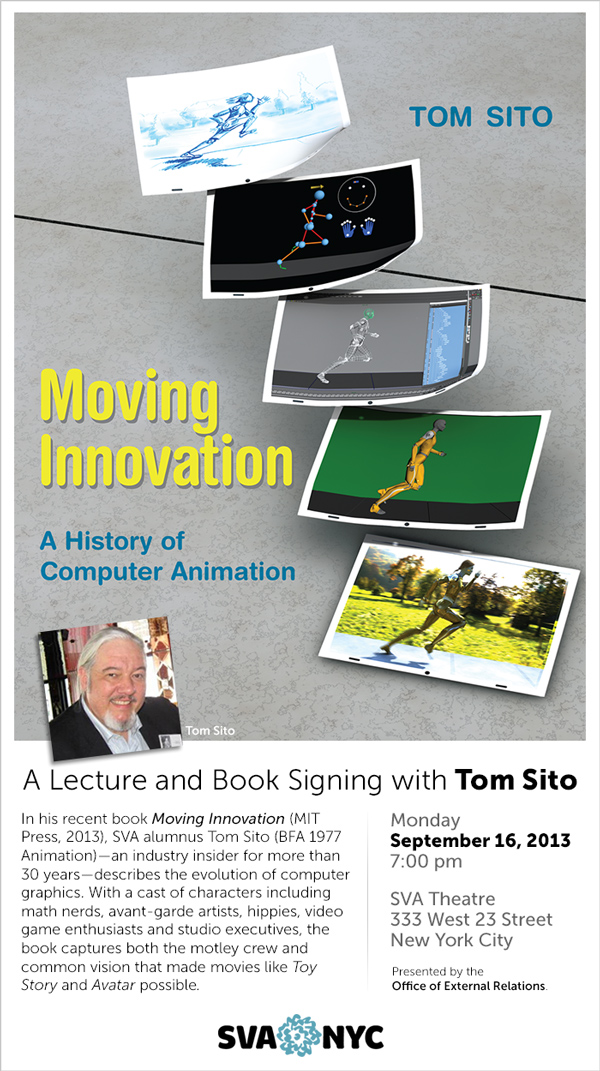 Moving Innovation Lecture and Book Signing with Tom Sito