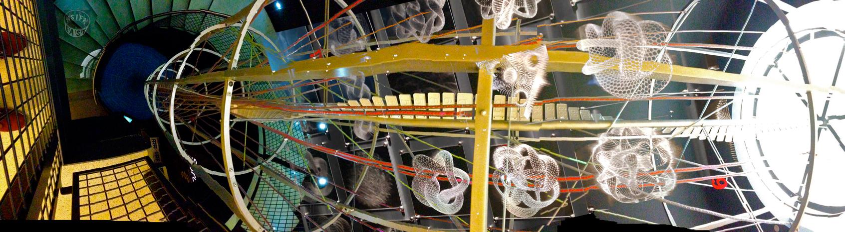 Laser-Etched Moebius Geometry & Multiplication-TARDIS