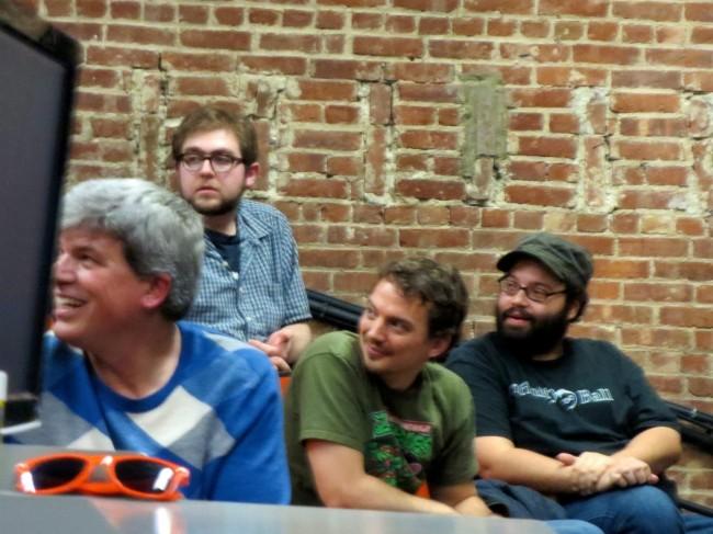 L to R: Rick Pickens , Emmett Goodman, Stephen Brooks, and Rob Yulfo.