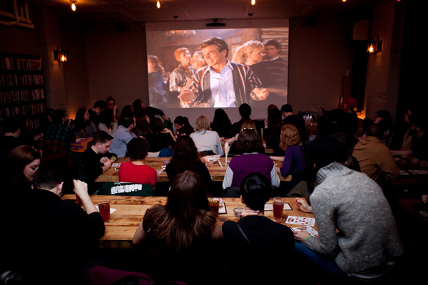 Screening room at Videology
