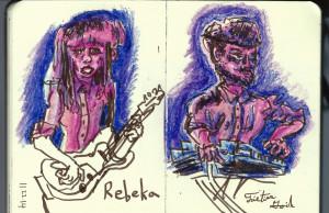 "Polish Techno at the ""Rebeka"" concert"