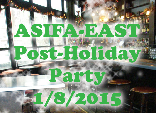 ASIFA-EAST POST-HOLIDAY PARTY 1/8/2015