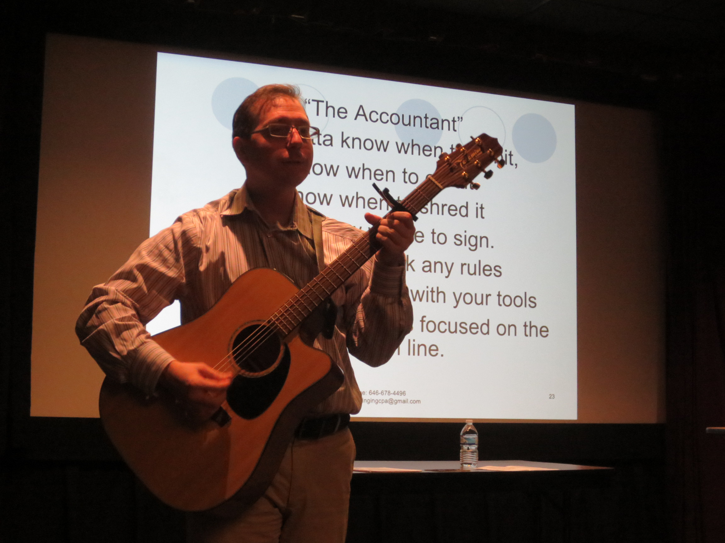 Taxes for Artists and Freelancers with Steven Zelin, The Singing CPA