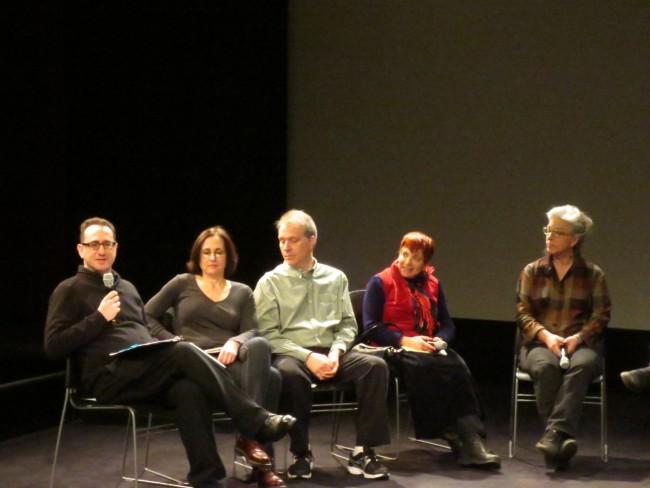 L to R: Ray Kosarin, Denise Gonzalez, Stephen Macquignon, Maxine Fisher, and Bridget Thorne.