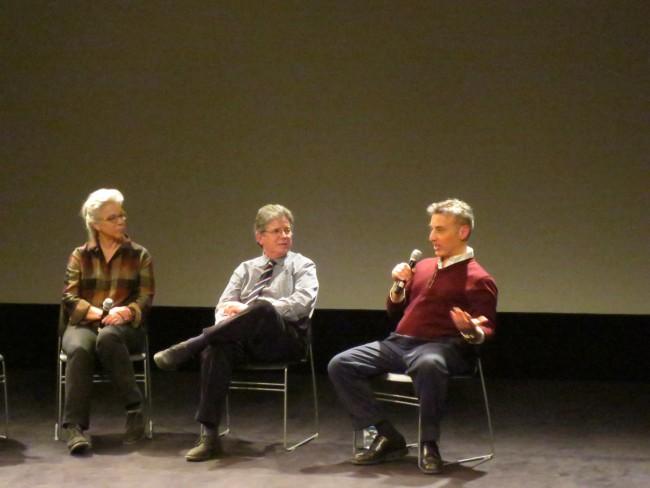 L to R: Bridget Thorne, Steven Parton, and Ed Askinazi.