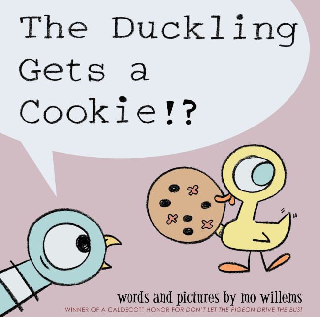 The Duckling Gets A Cookie_CVR