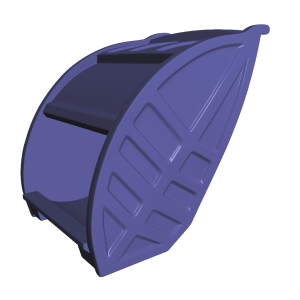 An example of semi-sharp creases [photo source: http://graphics.pixar.com]