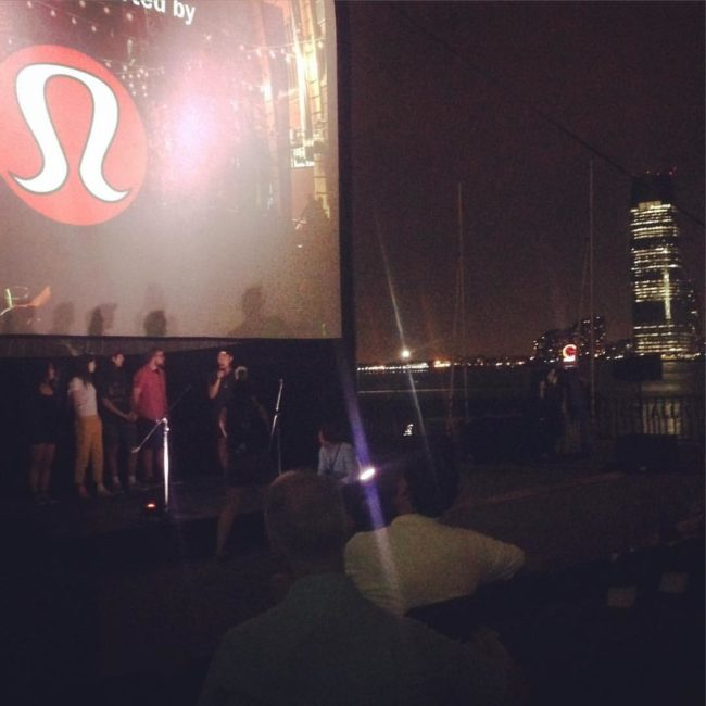 Late night at opening of #animationblockparty #abp with filmmakers talking about their ouvre... Only the devoted fans are left to ask questions #animation #asifaeast #rooftopfilms woo I c Matt Christensen! #nyu #hedgehoginthefog — with Bryan Brinkman and Matt Christensen at Brookfield Place New York.