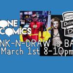 Anyone Comics Grand Opening Drink-N-Draw!