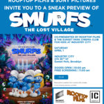 Smurfs And the Lost Village Sneak Preview